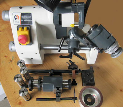 RDG TOOLS Universal Tool and cutter Grinder with attachments + 5c collets