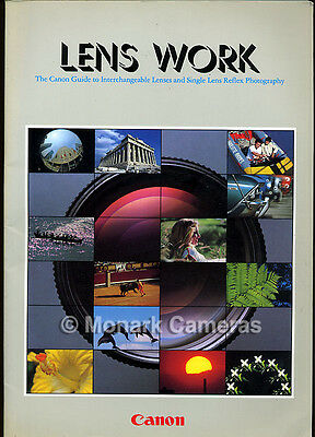 NEW Canon Lens Work, Guide Book to 1984 FD Lens Range, More User Manuals Listed
