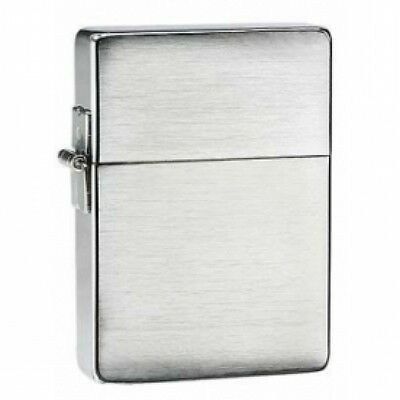 Zippo 1935 Replica Brushed Chrome Windproof Lighter Brand New