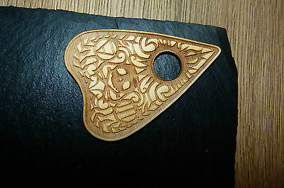 Bizarre Magick Wooden Planchette weeja fortune telling spirits for Ouija Boards
