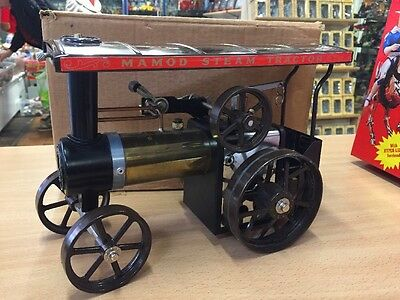 Mamod Rare Steam Te Limited Special Edition Brown Wheels Canopy