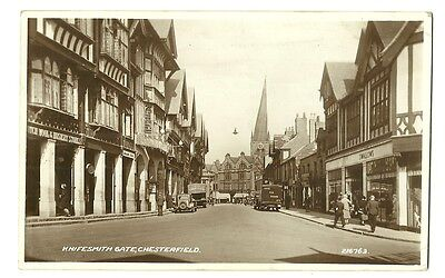 Chesterfield - a photographic postcard of Knifesmith Gate