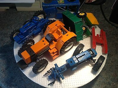 Vintage FORD Britains 1/32 various farm,tractor & parts, etc SPARES/Restore