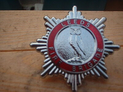 Leeds Fire Brigade  2 Badges   Obsolete