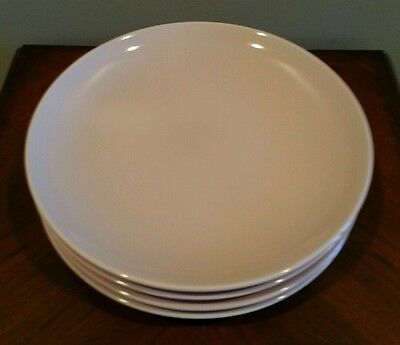 4 Iroquois Casual China by Russell Wright Pink Dinner Plates