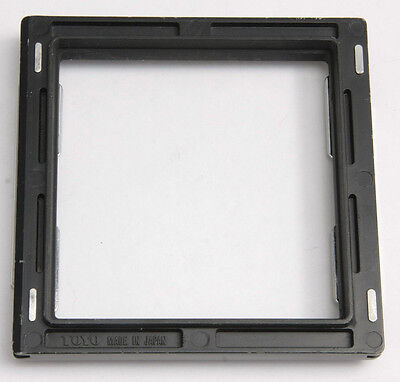 "Toyo Lens Board Adapter 4"" to 3 1/2"" Large Format Camera Part - USED EX+ D89"