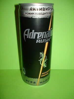 New Energy Drink can Adrenalin Rush WARFACE limited edition. Russia 0.25l
