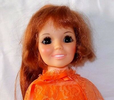 1969 Beautiful Ideal Crissy Doll Hair That Grows Original Box Papers Very Nice