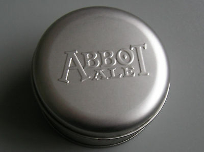 Abbot Ale Chrome Plated Cufflinks In Metal Tin Presentation Box