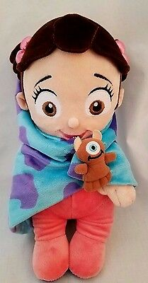 Disney Parks Disney's Babies Boo Plush Baby Doll and Blanket - Monsters, Inc.