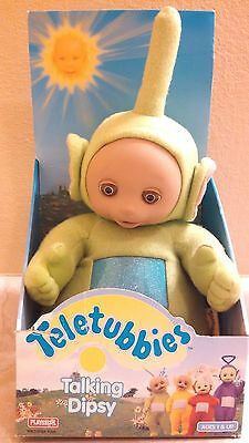 Teletubbies Talking Dipsy Plush Green Figure New In Box 1998 Hasbro Playskool