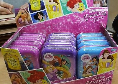 Topps Disney Princess Trading Card Game Collector's Tins: 39 Cards + Limited Edt