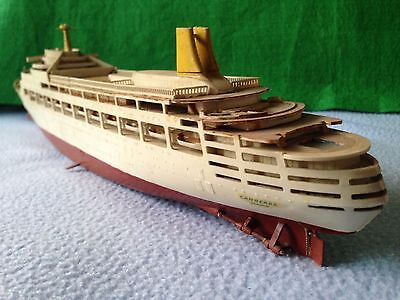 """AIRFIX :SS CANBERRA  SCALE AIRFIX MODEL SHIP KIT 16"""" (made)"""