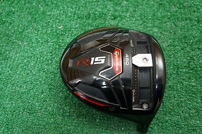 Taylormade R15 460 Black 12* Driver Head Only Good Condition 528116