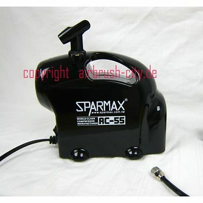 TOP Sparmax AC-55 Black edition Airbrush Kompressor