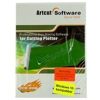 Artcut  Professional Sign Making Software für Cutting Plotter Schneideplotter
