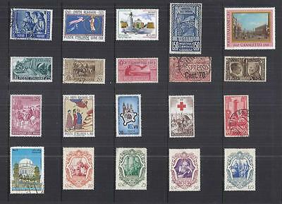 y832 Italy /  A Small Collection Early & Modern Umm Lhm & Used