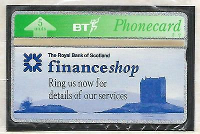 Btp266 Rbs Royal Bank Of Scotland Dundee Mint Sealed Bt Phonecard