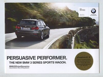 2014 BMW 328i 328d xDrive Sports Wagon Brochure my8120