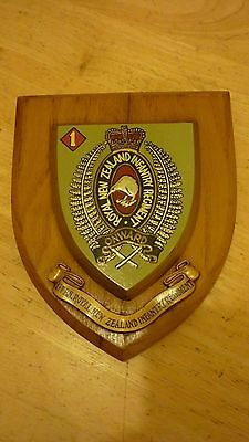 Royal New Zealand Infantry Regiment wall plaque