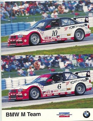1997 BMW M3 Race Car Brochure my8169