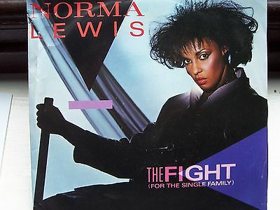 Norma Lewis, The Fight (For The Single Family). Phil Harding Produced Single