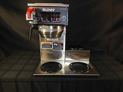 Bunn CWTF15 Commercial Coffee Brewer Automatic Machine w/3 Warmers CWSeries(390)