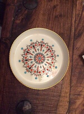 Royal Worcester Hand Painted Fine China Coaster