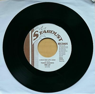 Tommy Navarro - I Cried My Life Away (Mod/Northern Soul) Re-issue