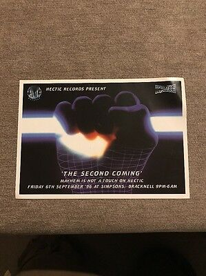 Hectic Records Rave Flyer