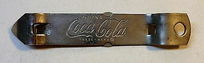 Vintage Coca Cola 1960's Can and Bottle Opener Sm