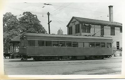 6D672  RP 1939/60s? INDIANA RAILROAD ELECTRIC MOTOR #?? FT WAYNE IN