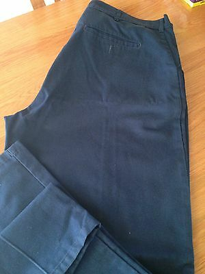 """Men's Polycotton Work Trousers Size 40"""" Tall"""