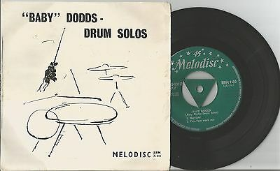 """Melodisc Jazz Ep * """"baby"""" Dodds  * -""""drum Solos"""""""