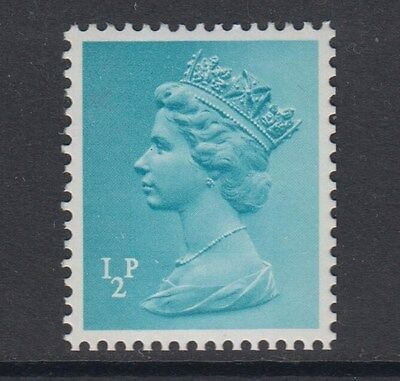 1973  1/2p  MACHIN  TWO BAND  TYPE 11 (THICK VALUE) SG SPEC U50d  UNMOUNTED MINT