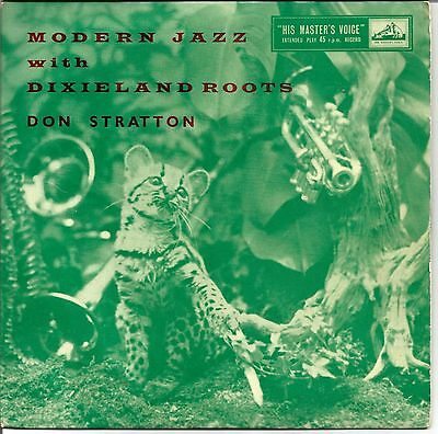 """H.m.v. Jazz Ep * Don Stratton * """"modern Jazz With Dixieland Roots"""""""
