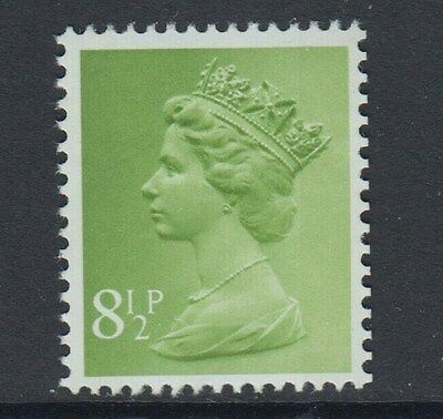 1977   8 1/2p  MACHIN  BOOKLET STAMP TWO 8mm BANDS  SG SPEC U168  UNMOUNTED MINT