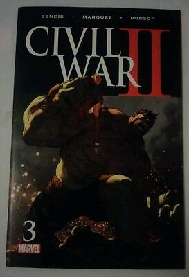 Civil War II #3 Death Hulk Marvel 2016 vfn P&P Discounts