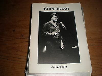 Johnny Mathis,superstar,the Mathis Connection Uk Fanzine Magazine Autumn 1988