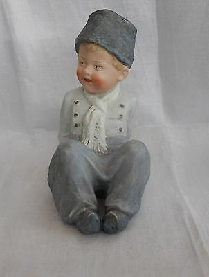 Heubach Victorian Piano Baby - Dutch Boy  - Large,stamped