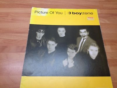 Picture of You Boyzone for piano, includes lyrics. Easy key. Mr Bean