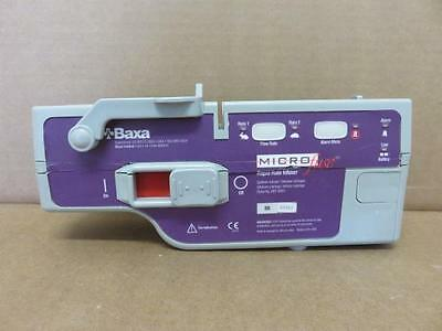 Baxa Microfuse Rapid Rate Infuser 6001 Syringe Infusion Pump