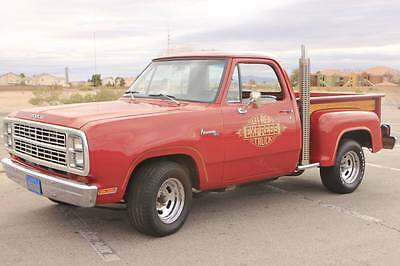 1979 Dodge Lil Red Express  LOW OWNERSHIP 'LIL RED EXPRESS, LOW MILES, ORIGINAL 360 V8, REALLY NICE WOOD