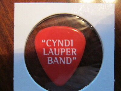CYNDI LAUPER  Red guitar pick