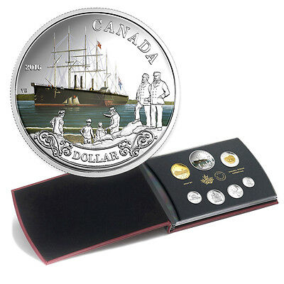 2016 Canada Special Edition Proof Set 150th Ann. of the Transatlantic Cable
