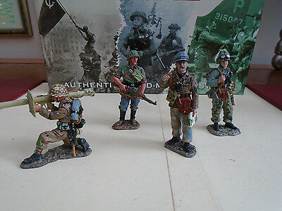( 3 ) K&c 4 German Soldiers  Rom The Wwii Range