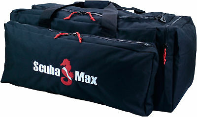 Scuba Deluxe Duffel Bag Separate Regulator/Fin Pockets Dive Travel Bag NEW