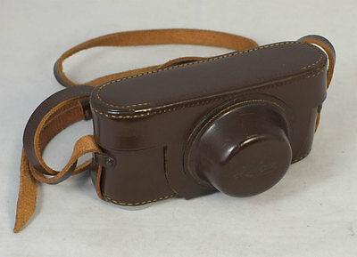 Brown Leather Leica Ever-ready Camera Case