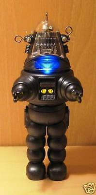 Rare 2009 Hallmark Robby The Robot Christmas Ornament  Mint In Box!  Super Rare!