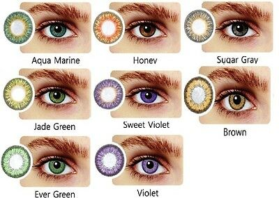 Vibrant Color Contacts Eye Lenses Colorblends Cosplay Cosmetic Makeup